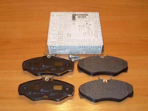 Тормозные колодки Renault Trafic Master Kangoo Opel Vivaro Movano Fiat