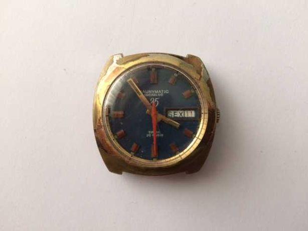 Relógio Cauny Prima Caunymatic 25 Rubis 1916 S Calendário (ano 1960)