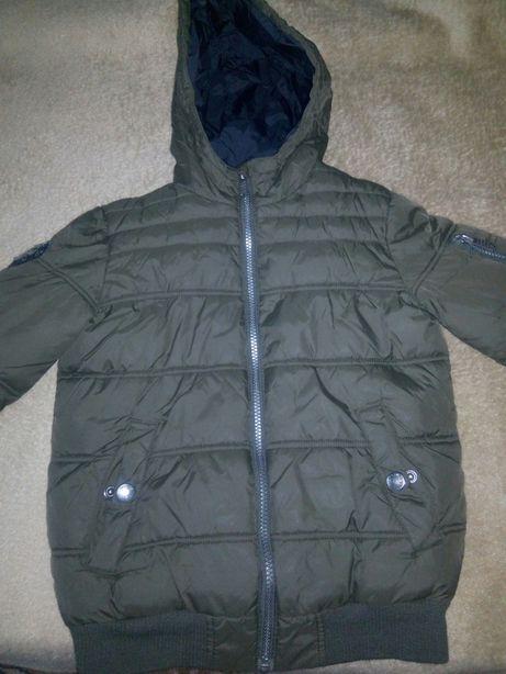Куртка курточка деми осень на рост 128—134 7-8-9 лет