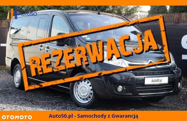 Citroën Jumpy Combi 2.0HDi 163KM 8 osobowy L2 AUTOMAT Nawigacja WELURY Klima 3 strefowa
