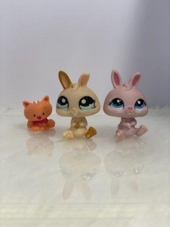 figurki lps króliki