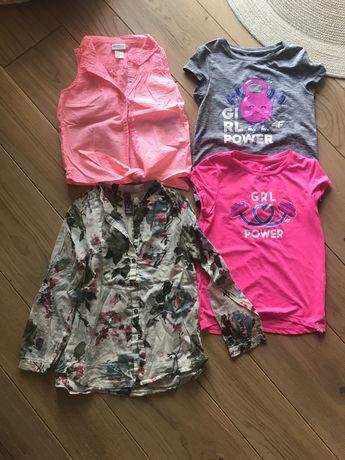 Bluzki i koszula dla dziewczynki 122/128