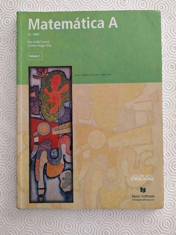 Matemática A 11º ano - Volumes 1, 2 e 3.