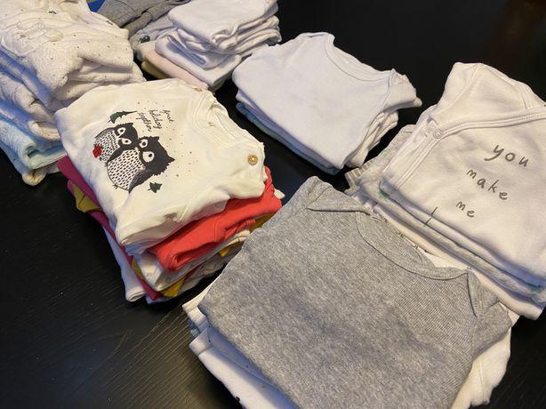 Lote roupa bebé - babygrows, bodys…