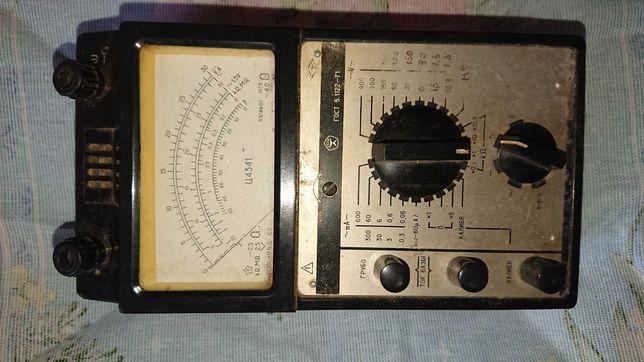 Амперметр,вольтметр,комбинированый прибор ц4341
