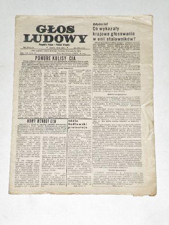 '' Głos ludowy '' , tygodnik polonijny z Detroit , Nr 9 z 1977 roku