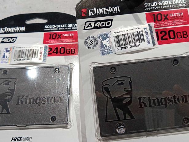 Путь0грн SSD Kingston A400 240Gb 120Гб ноутбука Компьютера Гарантия 3Г