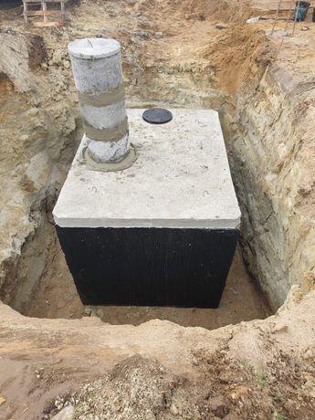 Dla rolnika zbiornik betonowy na gnojówkę szambo 12m3