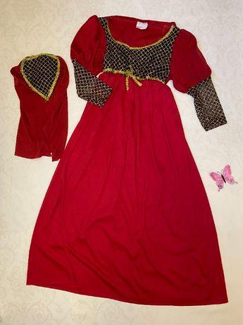 Карнавальный костюм платье леди принцессы