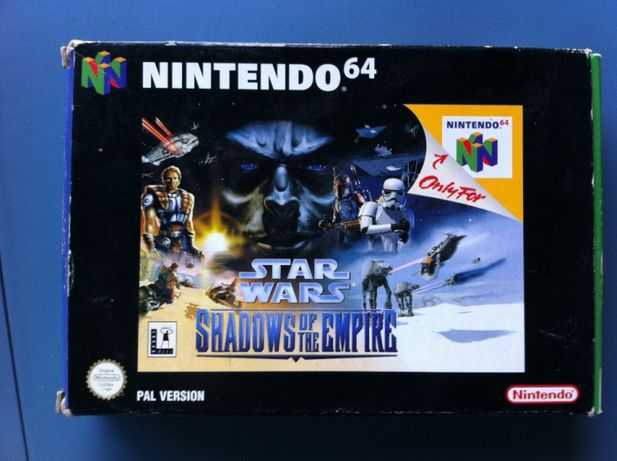 jogo star wars shadows of the empire N64