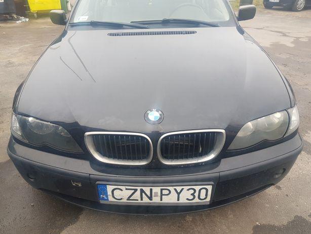 BMW E46 Lift Kompletny Przód Zderzak Lampy Błotniki Pas Chłodnice