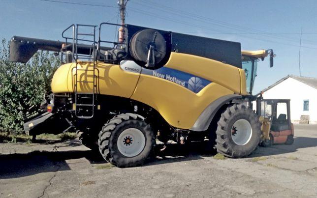 СРОЧНО! Комбайн NEW HOLLAND CR9080 роторный с жаткой 7,5 м