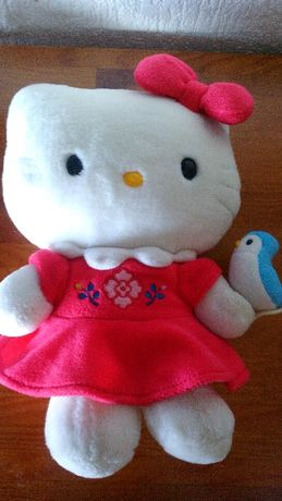 Hello Kitty peluche carteira bolsa Noddy