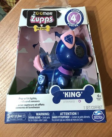 Интерактивный щенок ZOOMER Zupps Royal Pups, King Retriever.