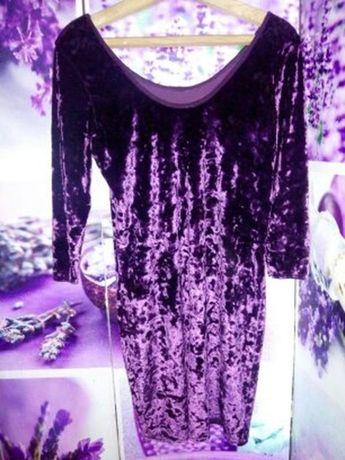 Вечернее платье.коктейльное платье. велюровое платье.платье e-vie