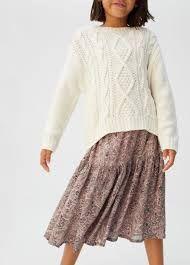 MANGO 2020 sweter warkocze 134