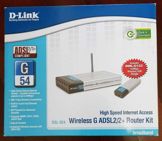 Router D-Link DSL-924
