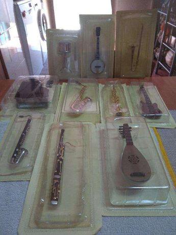 Coleção de réplicas de instrumentos musicais