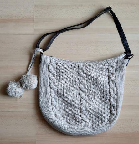 Duza sweterkowa torba atmosphere