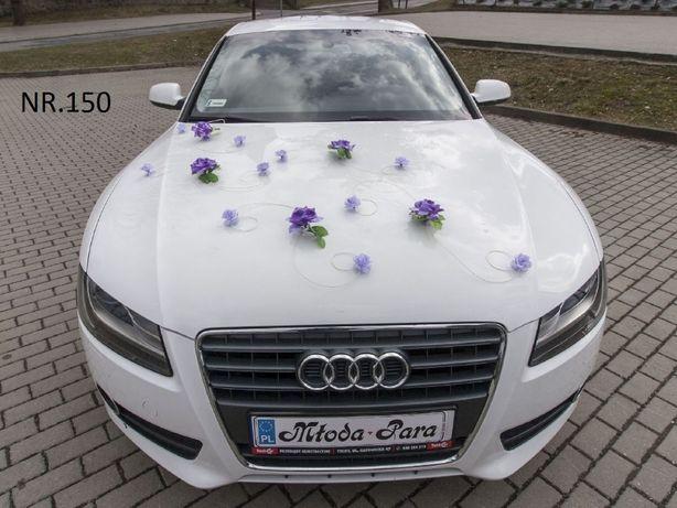 Dekoracja/przybranie na samochód w kolorze pięknego fioletu/kolory