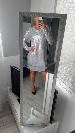 Srebrna sukienka boska!
