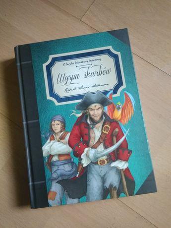 książka dla dzieci z ilustracjami robert louis stevenson wyspa skarbów