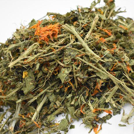 Mix ziół,mieszanka ziołowa dla gryzoni,świnki morskiej,królika
