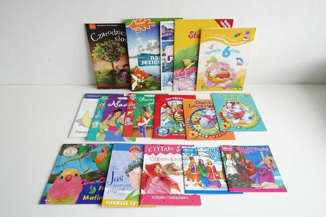 Książeczki , bajki , czytanki , kolorowanki dla dzieci - ZESTAW 4