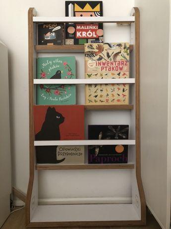 Półka na książki biblioteczka Nuki montessori polski design