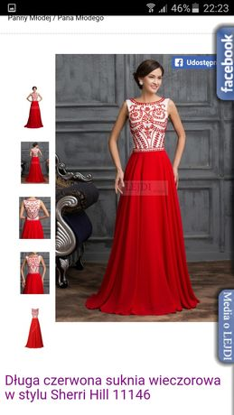 Efektowna suknia wieczorowa