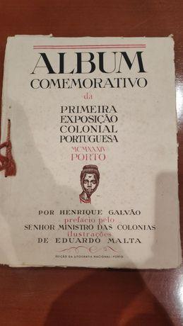 Album Comemorativo da Primeira Exposição Colonial Portuguesa - 1934