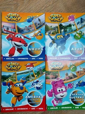 Super Wings Azja, Europa, Ameryka, Afryka