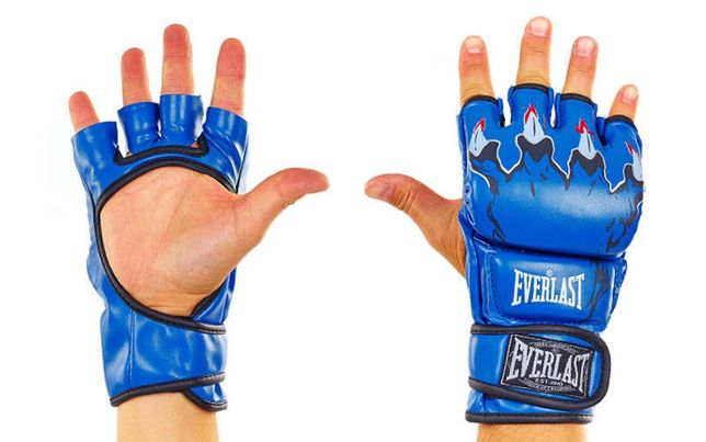 Перчатки для смешанных единоборств ММА EVERLAST