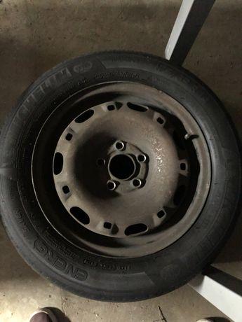 4x jantes rodas ferro Com pneus 5x100 vw audi seat skoda golf 4, polo