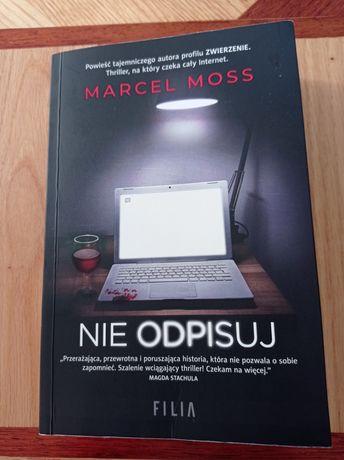Marcel Moss - Nie odpisuj