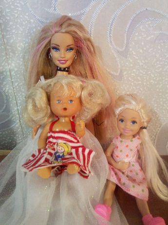 Кукла Барби с дочками(семья)