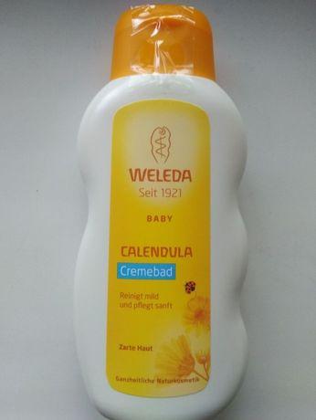 Молочко для купания младенцев Weleda
