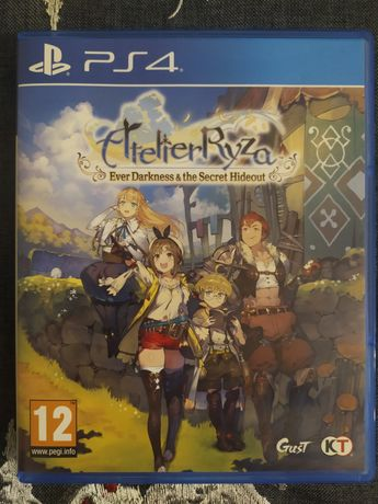 Atelier Ryza Ever Darkness And The Secret Hideout PS4