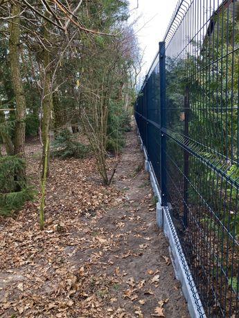 Montaż ogrodzenia panelowe betonowe siatka obsadzanie bram i furtek