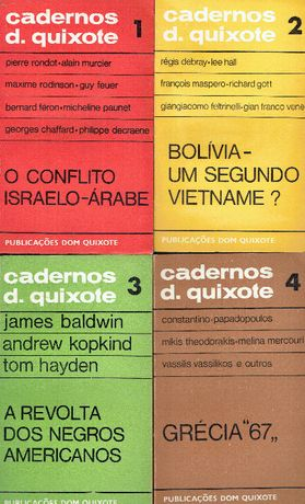 7599 - Coleção Cadernos D. Quixote