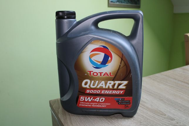 Olej total quartz 5W-40 ponad 3 litry