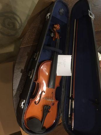 Violino 1/2 e dois violinos 3/4 com caixa e arco