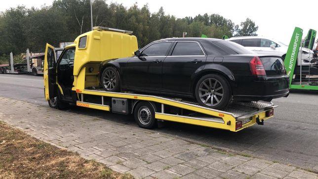 Pomoc Drogowa 24h/7 AutoLaweta Całodobowa Transport Aut zOC PoWypadku