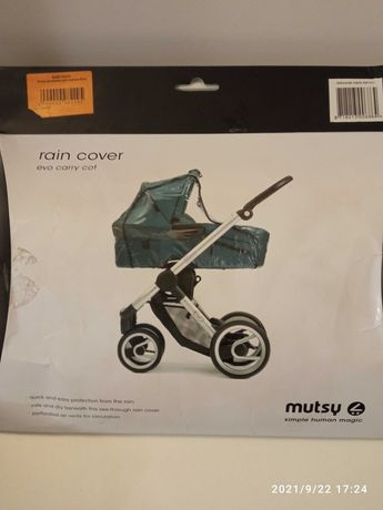 Дощовик для коляски люльки Mutsy EVO
