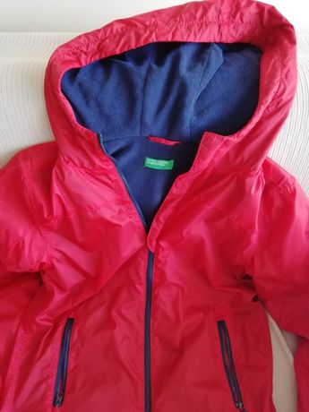 Benetton - casaco corta vento  rapaz 14 anos