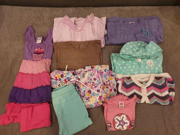 zestaw ubranek dla dziewczynki 80-86 cm