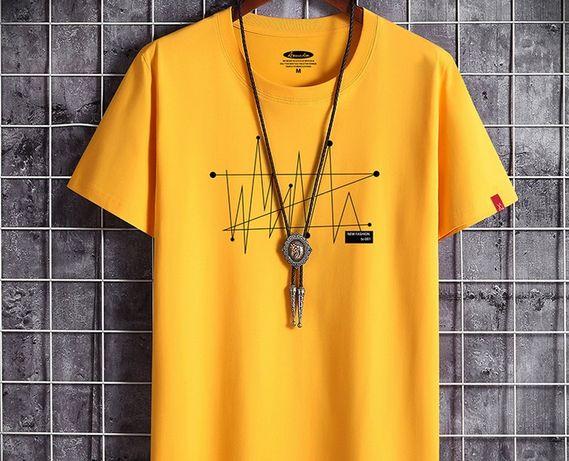 Мужская футболка новая размер 48. 52
