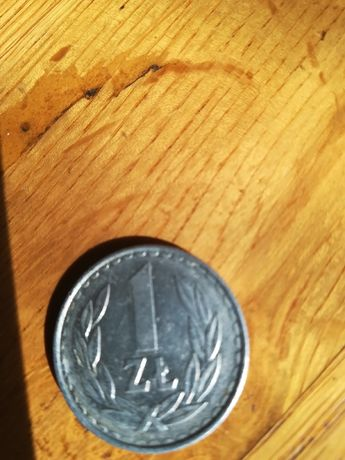 1 zł 1986 r. Stara moneta