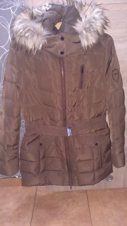 Dłuższa kurtka / płaszcz zimowy C&A rozm. 42