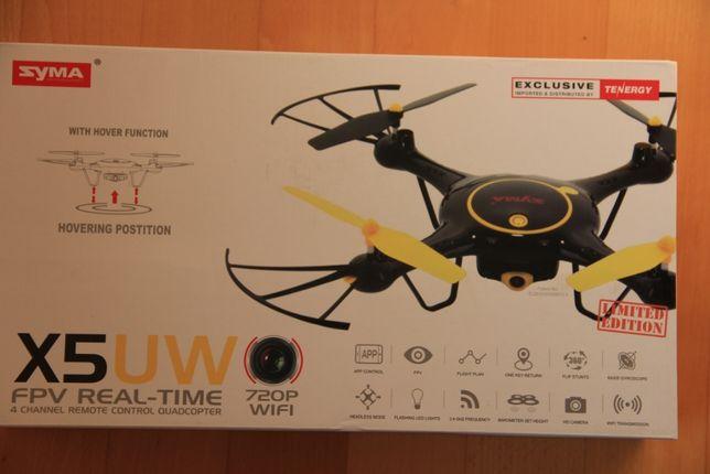 Квадрокоптер Tenergy Syma X5UW Wifi FPV с одним аккумулятором